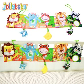 Jolly baby multi-functional three-dimensional story book cloth book
