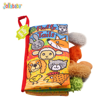 Jolly baby stereo baby cloth book