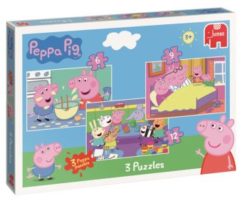 Jumbo Peppa 3in1 Puzzle Pack