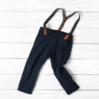 Just Jeans Baby Boys Suspender Pants (Blue)