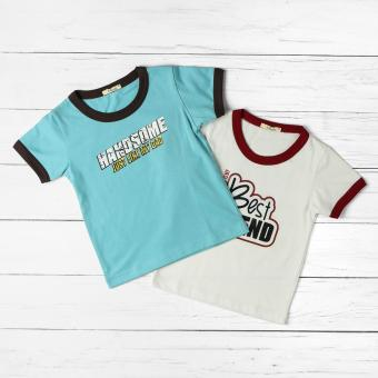 jusTees Baby Boys 2-piece Daddy is my Best Friend Tee Set (2T)