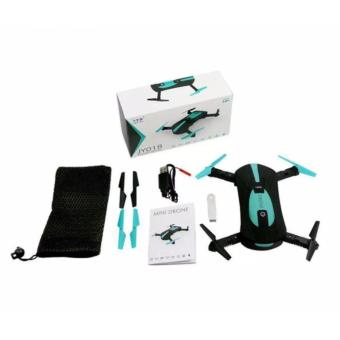 JY018 Portable HD Camera Wifi and 2.4 G Multi-band Control System Pocket Drone - 3
