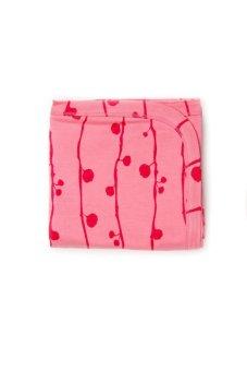 Kate Quinn Organics Receiving Blanket -Berry (Pink)