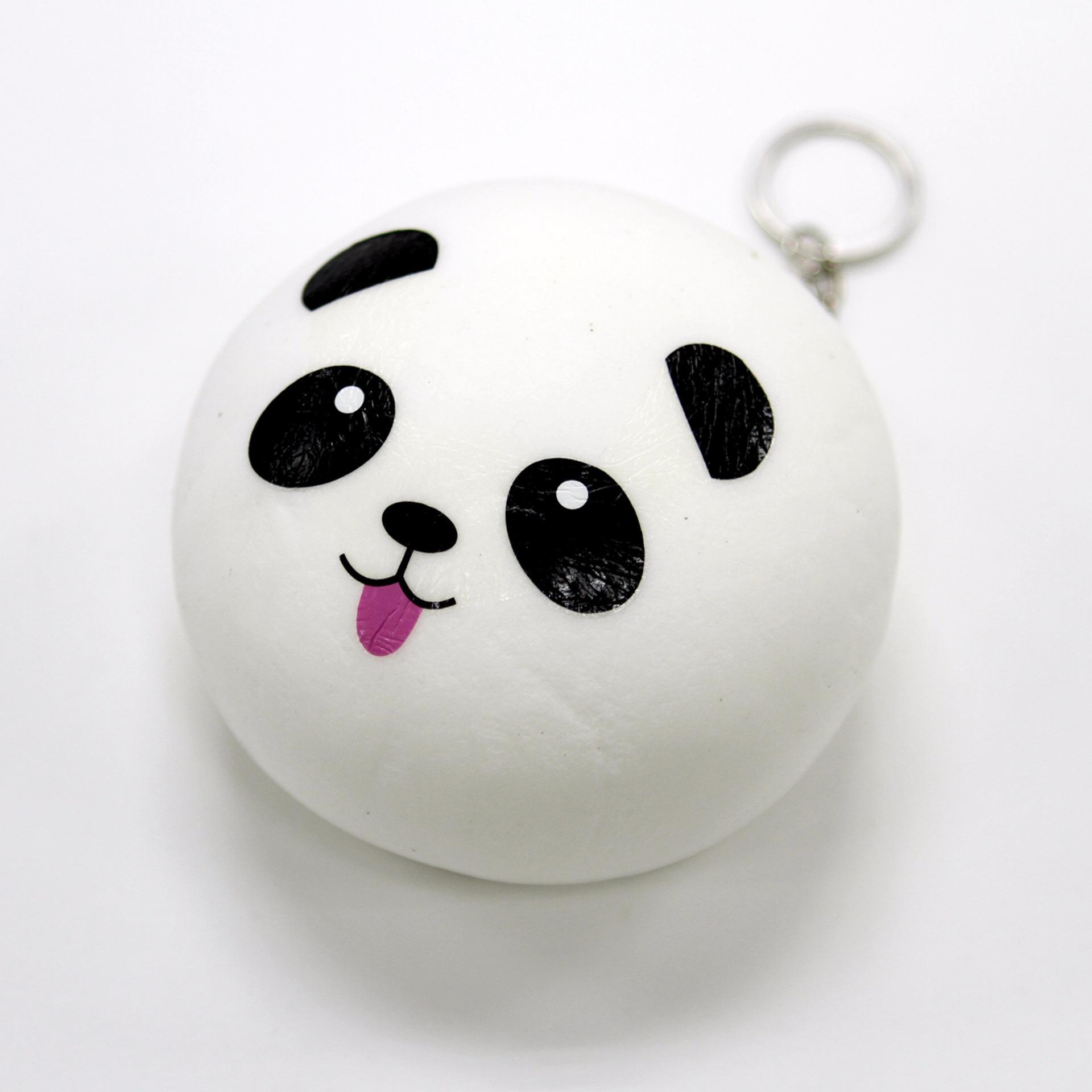 Katelegance Kawaii Panda Bun Squishy; Katelegance Kawaii Panda Bun Squishy ...