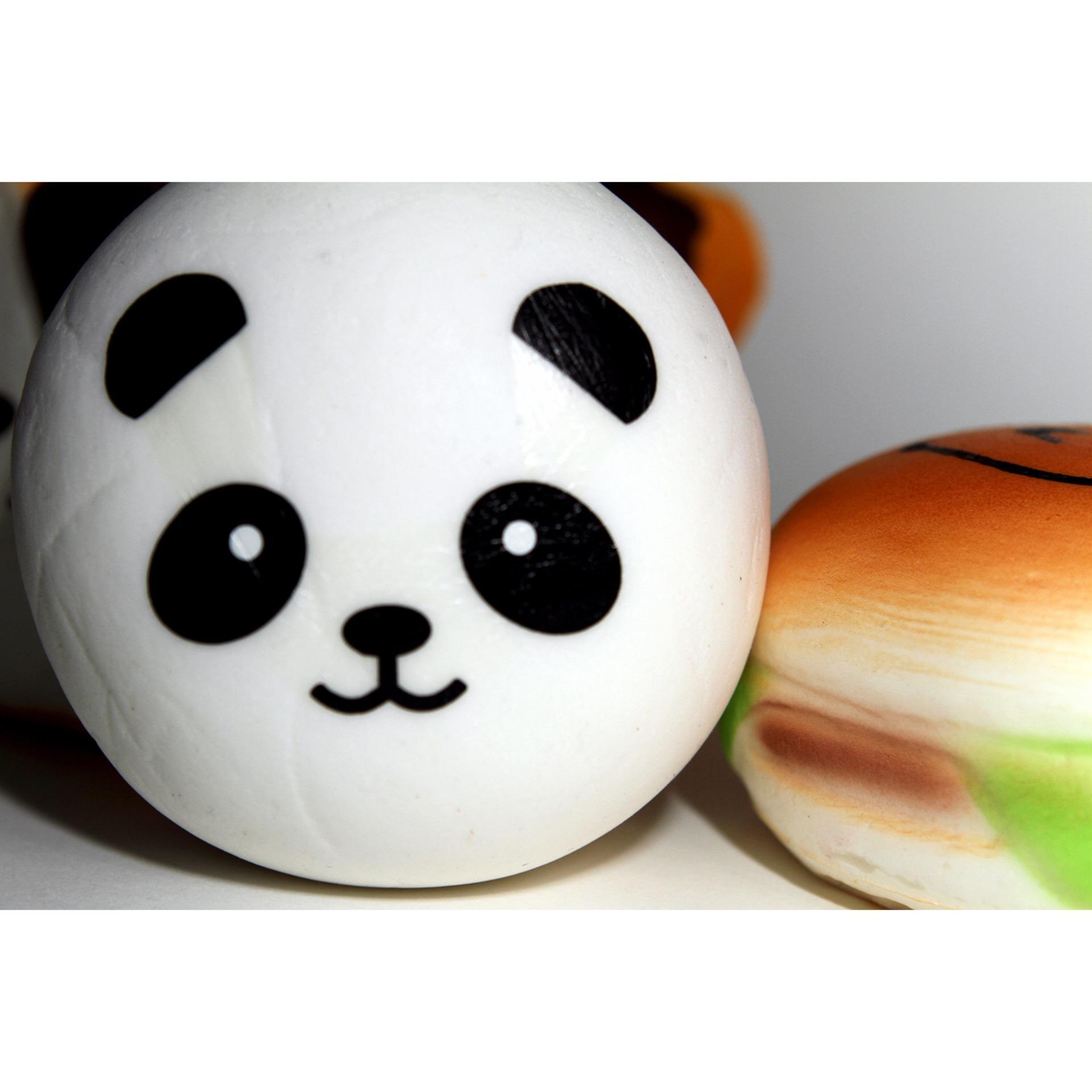 ... Katelegance Kawaii Panda Bun Squishy ...
