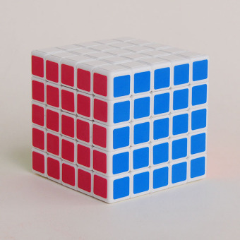 Kathrine 5x5x5 matte adhesive paper tournament Five Order cube