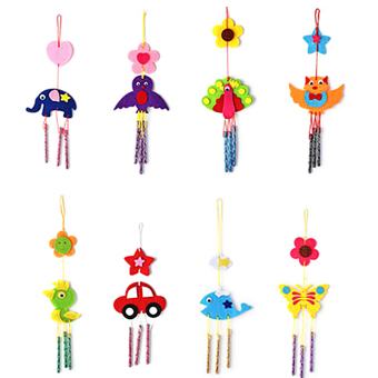 Kids Child DIY Wind Chimes Aeolian Bells Educational Puzzle ToysCraft Kits Price Philippines