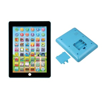 Kids Children Tablet IPAD Educational Learning Toys Gift For Girls Boys Baby Blue - intl