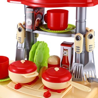 Kids Kitchen Cooking Toy Set For Role Play - 3