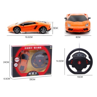 Kids Model Toys Remote Control Cars With Lamp - intl - 2