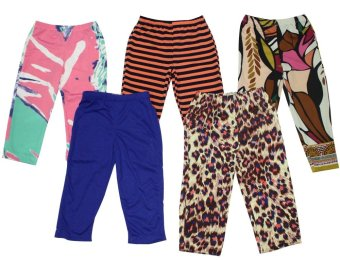 Kid's Stylistic Leggings-K Set of 5