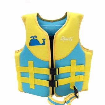 Kids Thermal Swimwear Snorkeling Diving Keep Warm SwimsuitsSwimming Suit Wear Play Water Sports Activities Children Life VestFloat Toddler Baby Boy Girl - intl