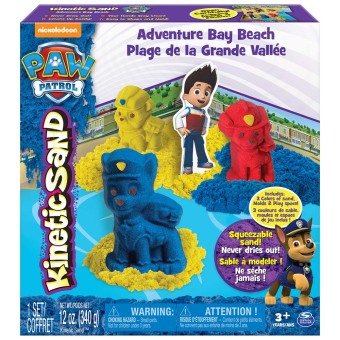 Kinetic Sand Paw Patrol Character Playset (12Oz)
