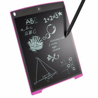 Kingdo 8.5 LCD Writing Tablet Board Office Writing Board(Pink) withStylus Pen with Free LED Watch - 3