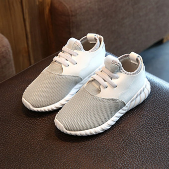 Korean-style breathable spring big kid I shoes children's shoes