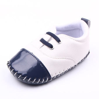 Korean-style faux leather Pu Spring and Autumn New style Baby Shoes Baobao shoes