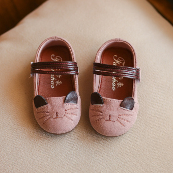 Korean-style soft bottom non-slip Baobao shoes toddler shoes
