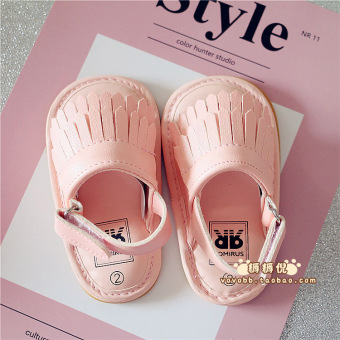 Korean-style summer baby girls shoes Baobao toddler shoes