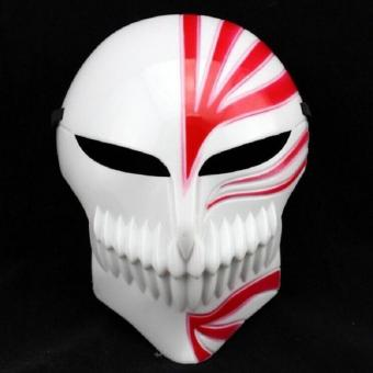 Kurosaki ichigo mask anime cosplay collections ghost horror scarymasks Halloween (RED)