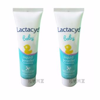 Lactacyd Liquid Moisturizing Baby Powder (120ml), Pack of 2