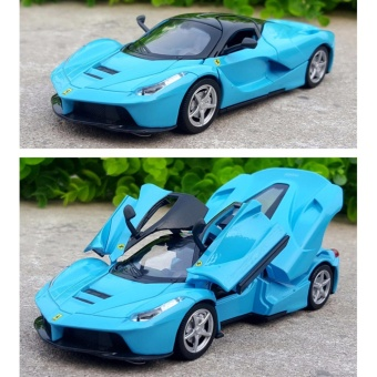 LaFerrari-Pull Back Toy Cars 1/32 Scale Alloy Diecast Car ModelKids Toys Collection Gift - intl