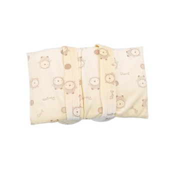 LALANG Infant Toddler Baby Soft Head Support Cushion Pillow (Beige)- intl - 5