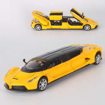 Lamborghini boy's toy car alloy car model
