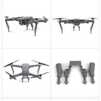 -Landing Gear Landing Feet Bracket Protector heighten for DJI MavicPro RC Dron - intl - 4