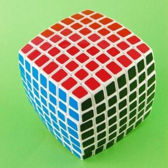 LanLan 7x7 Magic Puzzle Cube Brain Teasers White - intl - 3