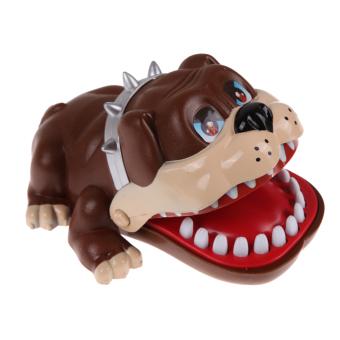 Large Bulldog Mouth Dentist Bite Finger Game Funny Toy Gift