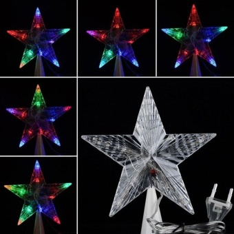 Buy Latest Cyber Led Indoor Outdoor Christmas Tree Topper Star Lights  Lampxmas Decoration 100 240v Eu Price In Philippines December 2017