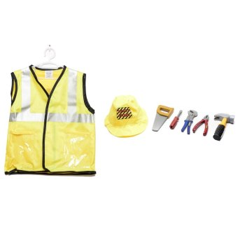 Le Sheng Construction Worker Dress-Up Kids Costume Set