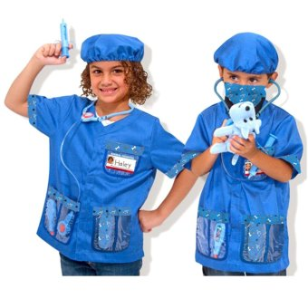 Le Sheng Dress Up Veterinarian Animal Doctor Costume