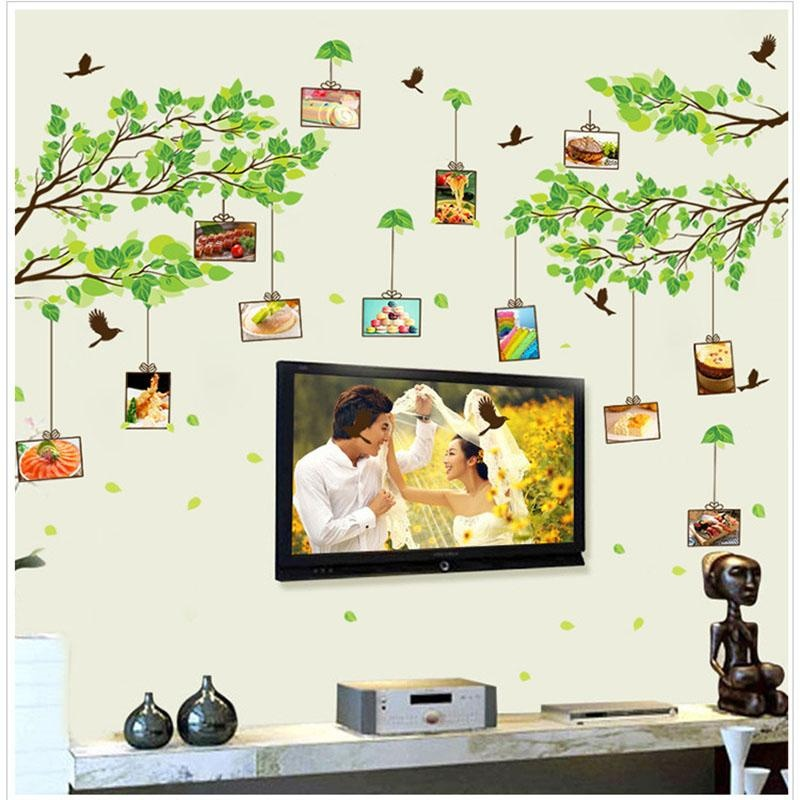 Philippines | Leaf Bird Photos Frames Wall Decal PVC Home Sticker ...