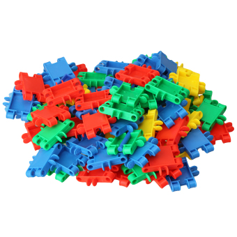 Learning Resources Gears Toy Square Building Blocks Multi-color