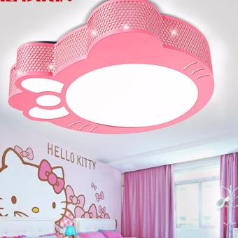 LED Hello Kitty Ceiling Light Children Bedroom Lamp (Pink)