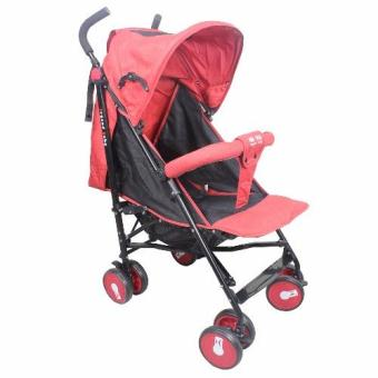 Legend Baby Umbrella Style Baby Stroller (Red)