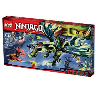 LEGO Ninjago Attack of the Morro Dragon