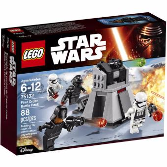 Lego Starwars 6-12 First Order Battle Pack 75132