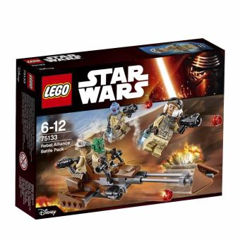 Lego Starwars 6-12 Rebel Alliance Battle Pack 75133