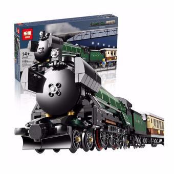 LEPIN 21005 TRAIN Emerald Night Train (1085 pcs) Building BlocksSet - 2