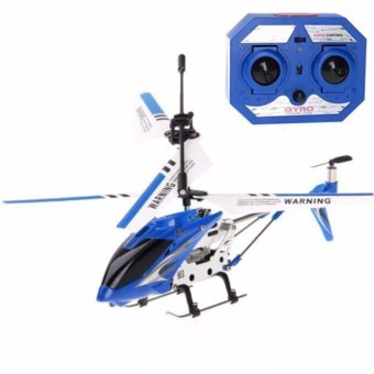 Lian Sheng LS-222 Mini 3.5CH IR Remote Control Helicopter withBuilt-in Gyroscope (BLUE) Price Philippines
