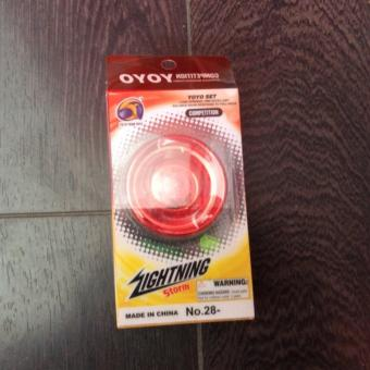 Lightning Storm Yoyo (Red) Price Philippines