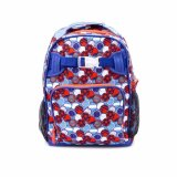 Lily and Tucker Boy's Ball Medium Backpack (Blue) - thumbnail 1