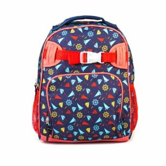 Lily and Tucker Sailor Boy's Medium Backpack (Dark Blue)