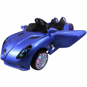 Limited Edition Mercedez Benz Kids Electric Ride On Toy Car 2 Doors XD-666 (Blue)