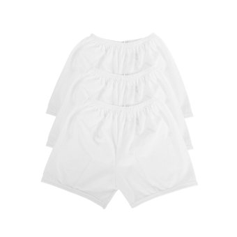 Lipton Classic Sandos and Shorts Bundle (White) - 3