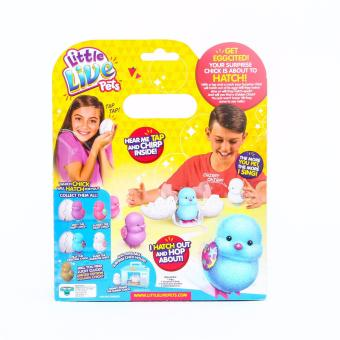 Little Live Pets Surprise Chick I Hatch & Hop Like A Real Chick(Pink) - 3