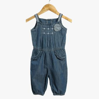 Little Miss Baby Girls Denim Jumpsuit (Blue) Price Philippines