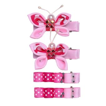 LMC Beatriz Clips D4 (Fuchsia/Light Pink) - picture 2
